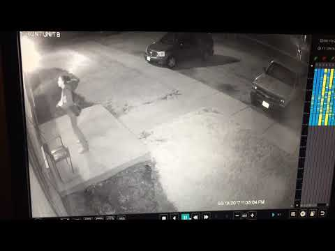 Surveillance video from Oberlin Ave apartment complex in Lorain