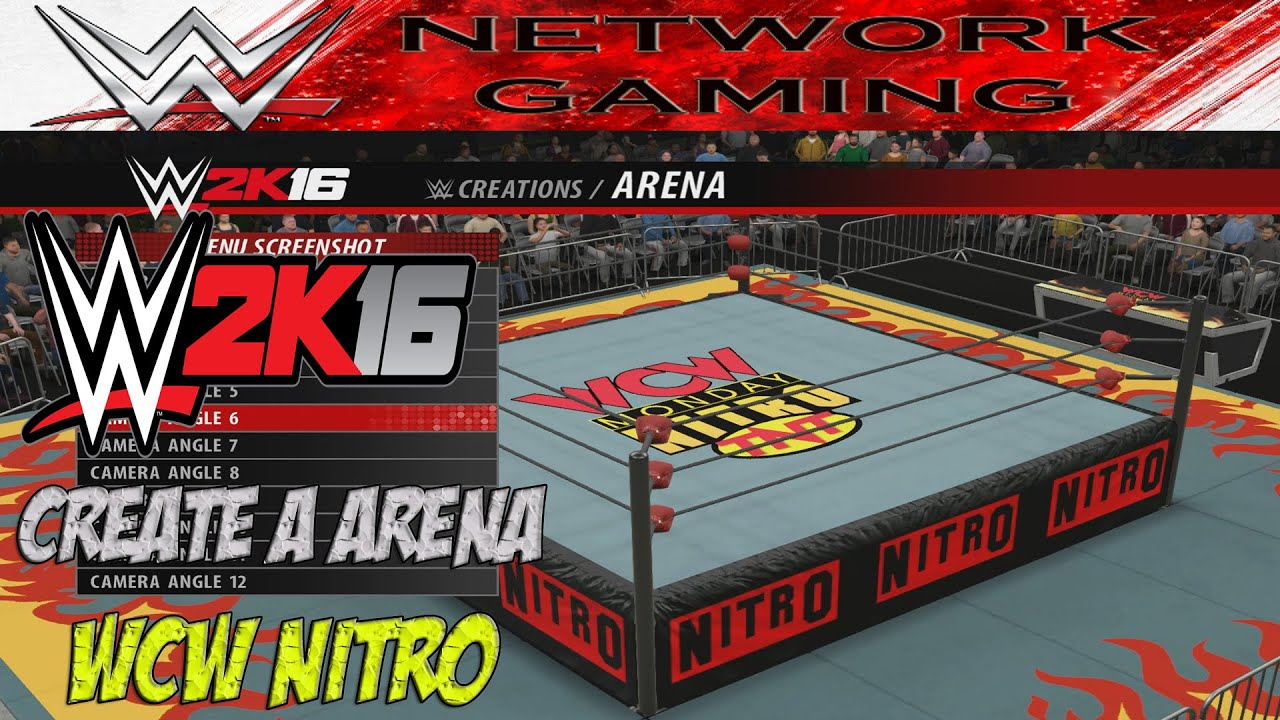 Wwe 2k16 Create A Arena 1997 Wcw Monday Nitro Community