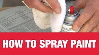 How To Use Spray Paint - Ace Hardware