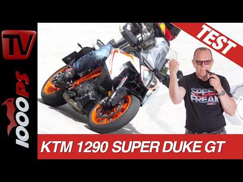 KTM 1290 SuperDuke GT 2019 | Test mit 245 und in den Spitzkehren