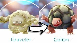 Ewolucja Graveler w Golem DIGITALWORLD - PocketWar ( Pocket Hunter )