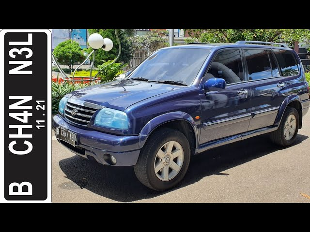 in depth tour suzuki grand vitara xl 7 2003 indonesia youtube in depth tour suzuki grand vitara xl 7