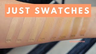 The Ordinary $7 Full Coverage Foundation Swatches | Fair + Light Shades | girlgetglamorous