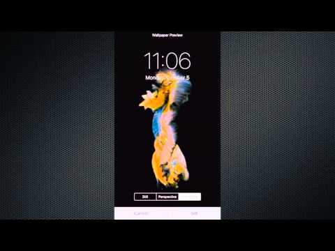 iPhone 6s and 6s Plus 3D Touch Live Wallpapers - YouTube