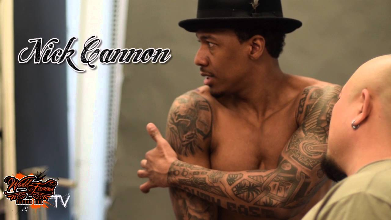15436cbb2ecba WORLD FAMOUS TATTOO INK | ZHANG PO TATTOOS NICK CANNON - YouTube