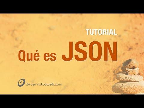 Qué es JSON