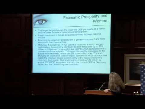 Women, Peace, and Security Symposium: Valerie Hudson on Why Women, Peace, and Security Matters