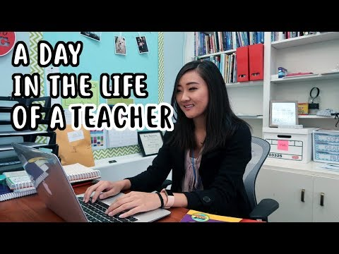 A Day in the Life of a 5th Grade Teacher