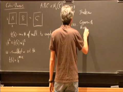 Representation Theory and Expansion in Groups III - Avi Wigderson