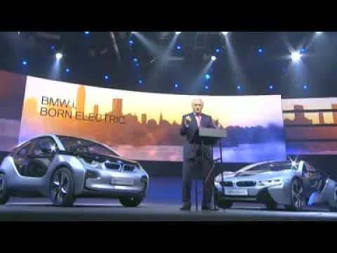 Weltpremiere BMW i3 und i8 in Frankfurt