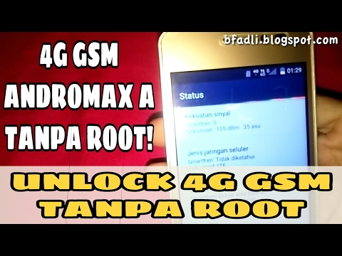 UNLOCK 4G GSM All Operator Andromax A Tanpa ROOT - Tutorial & Tips