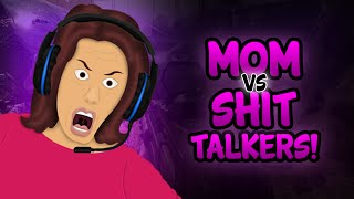 mom vs shit talkers mom voice trolling black ops 2