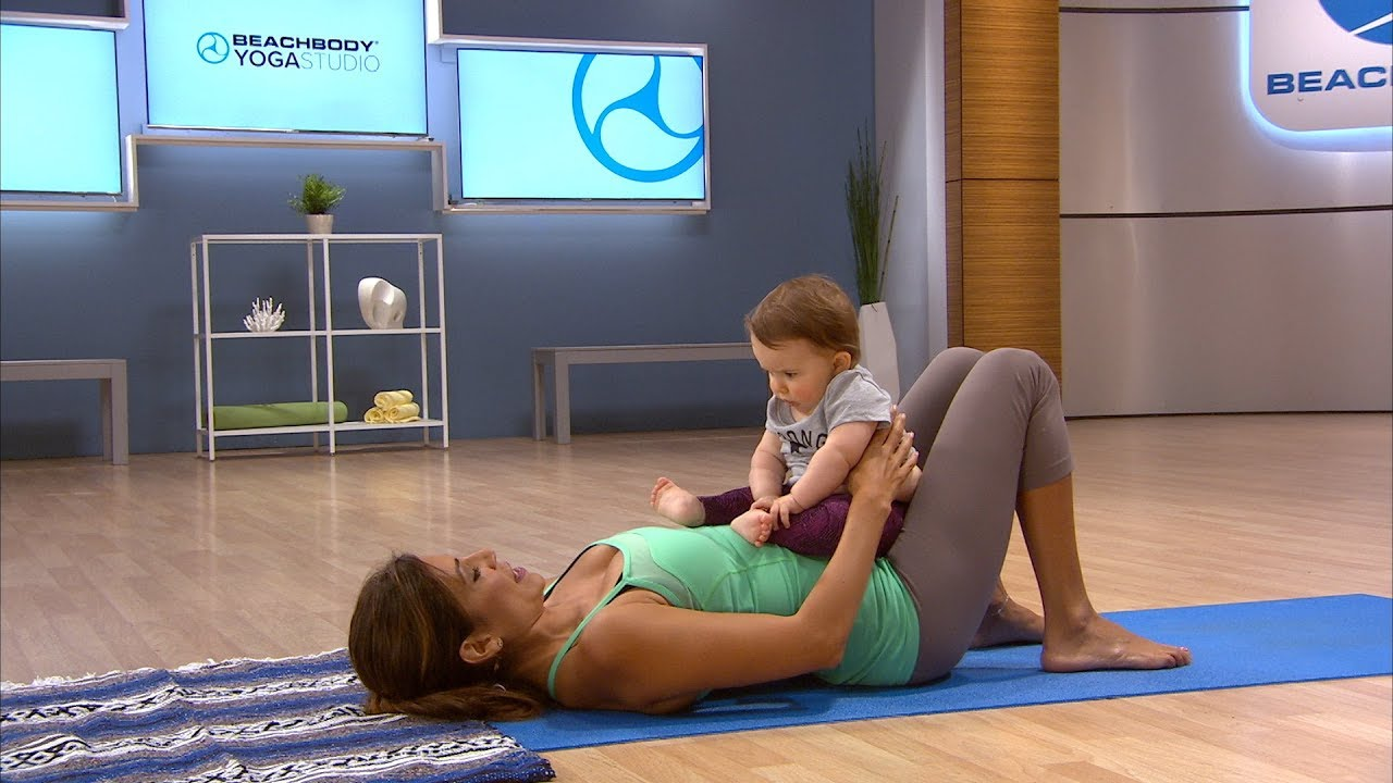 4cf718ae7762 Easy at Home Mommy-Baby Workout with Desi Bartlett