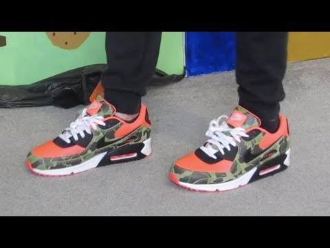 Nike Air Max 90 - Reverse Duck camo 2020 - fresh out le box (review + on feet) 🦆🔥