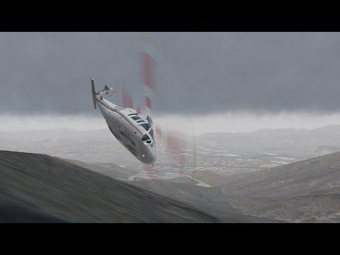 Improved N72EX Kobe Bryant Animated Crash Reconstruction