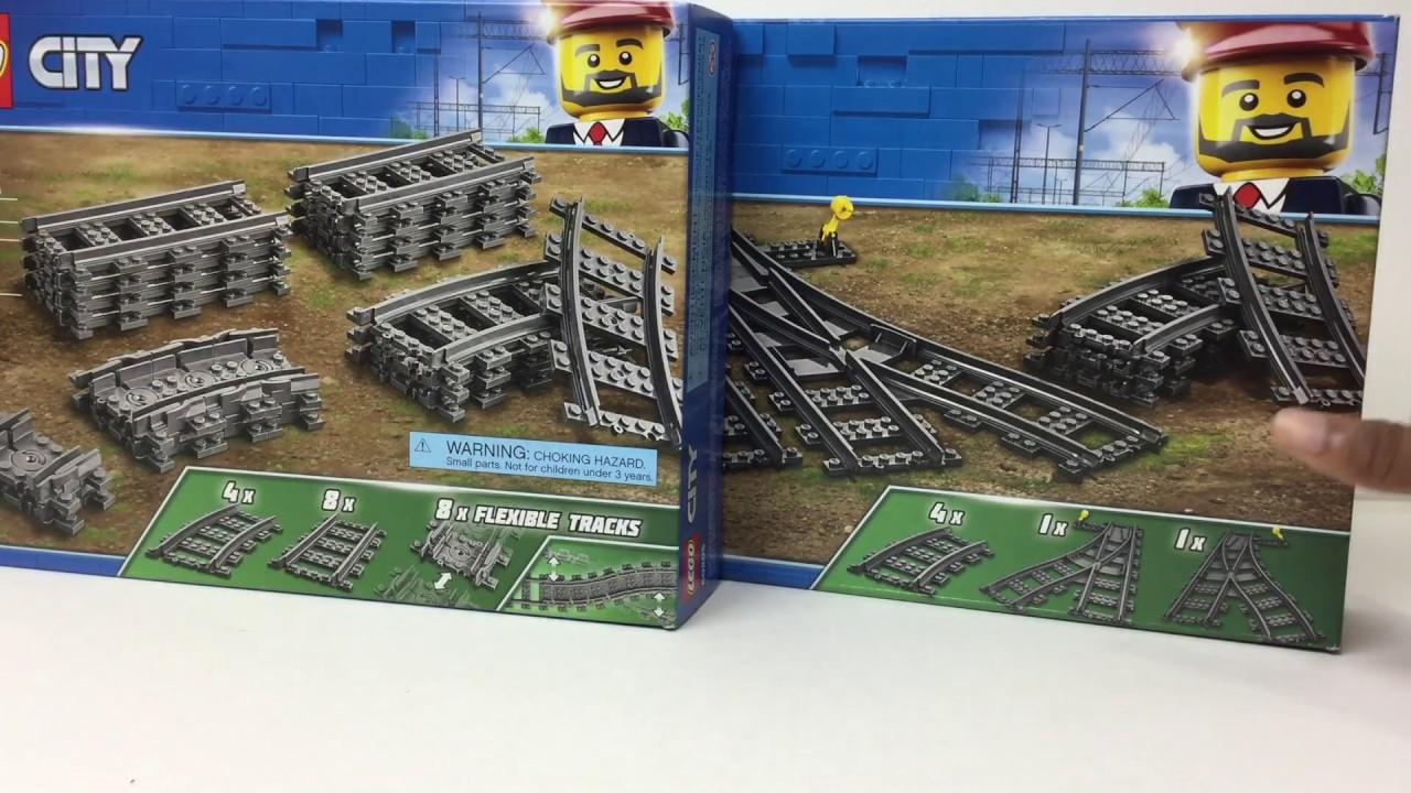 60238 Lego City Switch Tracks set