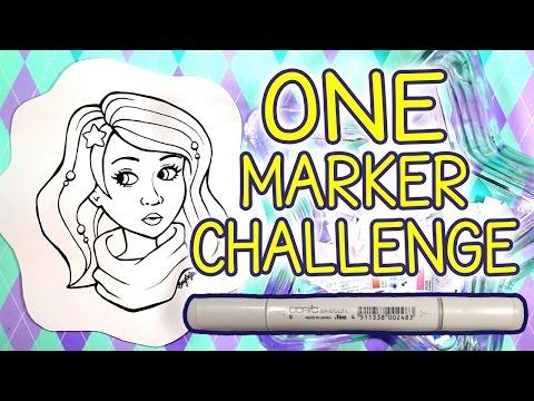 ONE MARKER CHALLENGE