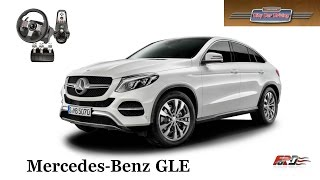 Mercedes-Benz GLE Coupe C292 - тест-драйв, обзор, гибрид ML и S-Class Coupe City Car Driving 1.5.3