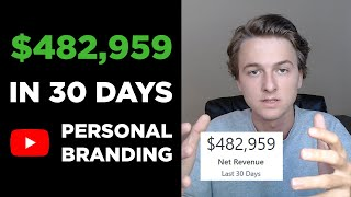 Baixar Personal Branding: How I Made $450K in 30 Days [Free Course]