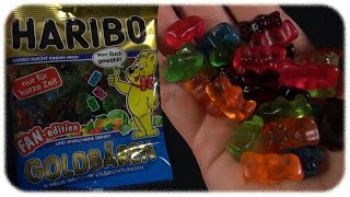 Haribo Goldbären - Fan Edition (Melone, Kirsche, Grapefruit,...) (Gummy Bears)