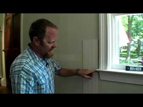 BUILDING SKILLS How to Scribe Paneling Around Window Trim