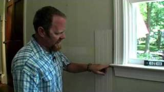 Building Skills: How To Scribe Paneling Around Window Trim