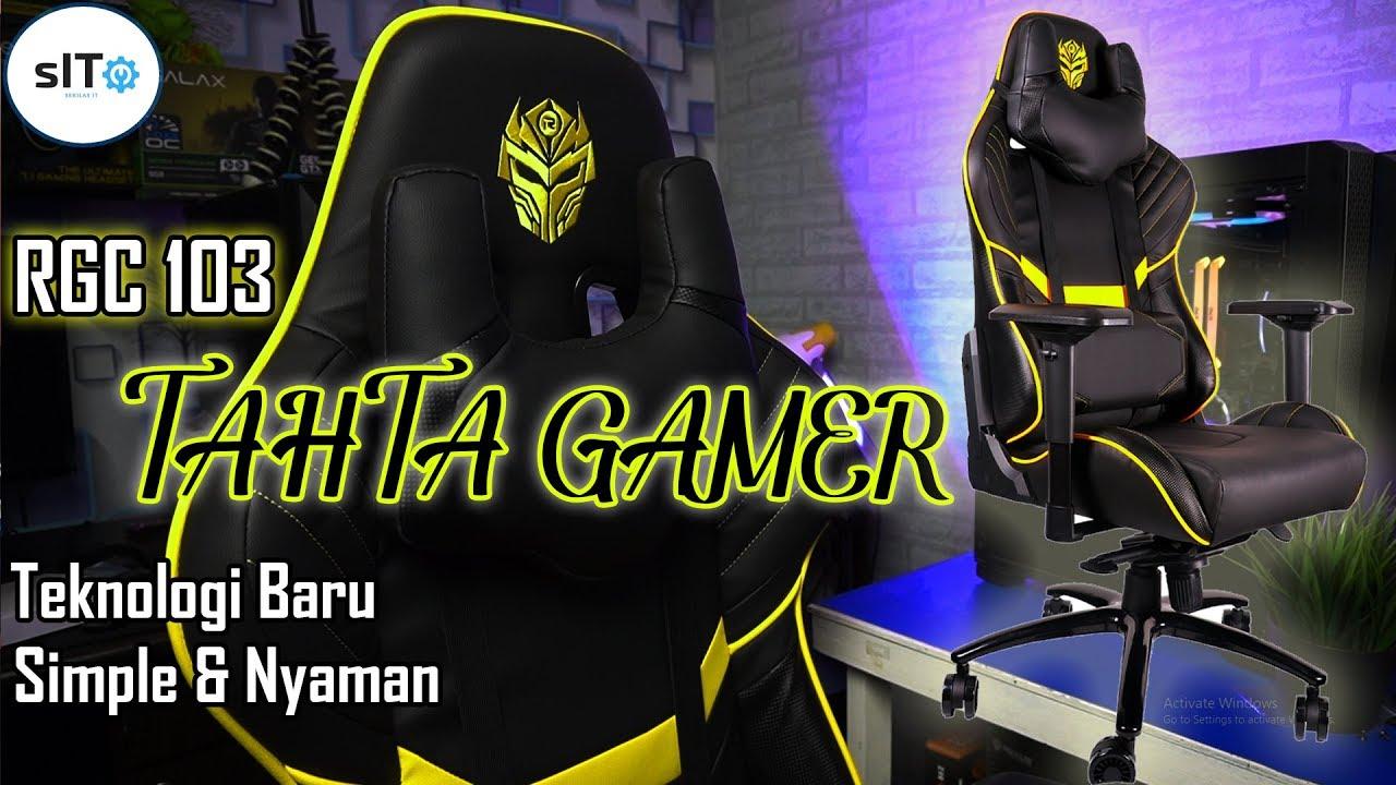 3 Kelebihan Pake Kursi Gaming Rexus RGC 103 - YouTube