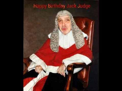 Happy Birthday Jack Judge