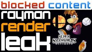 Rayman In SMASH Render LEAK + Smash Ultimate 10 FIGHTERS Coming?! Let's Speculate! - LEAK SPEAK!