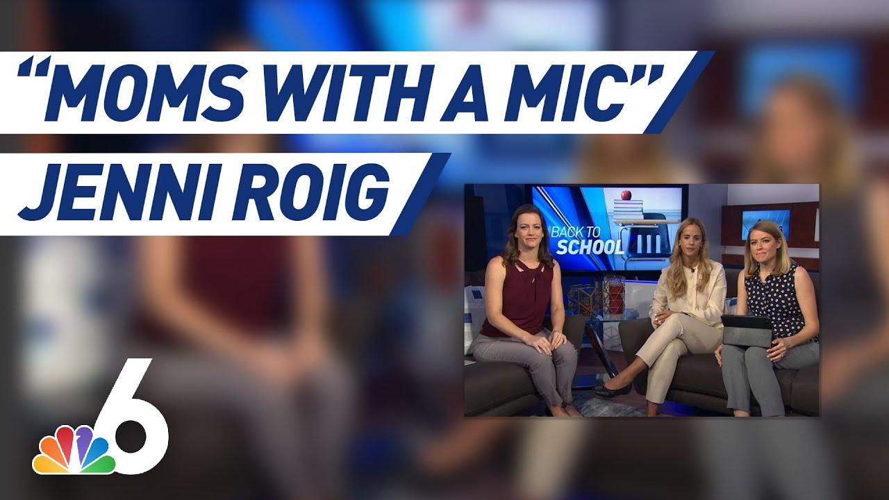 Back to School Tips With Jenni Roig | Moms With a Mic