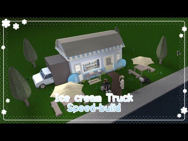 Bloxburg - Icecream truck Speed-build