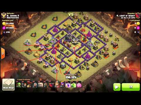 Shattered GoLaLoon. 3 STAR TH9. 2 air sweepers. Haste Spell