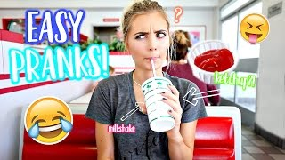Funny & Easy Pranks You NEED to TRY! | Aspyn Ovard