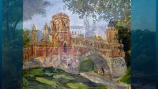 видео Памятник архитекторам Баженову и Казакову в Царицыно в Москве