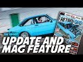 Retro Ford feature and first Track-Day....