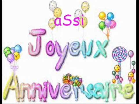Картинки поздравления с днем рождения на французском