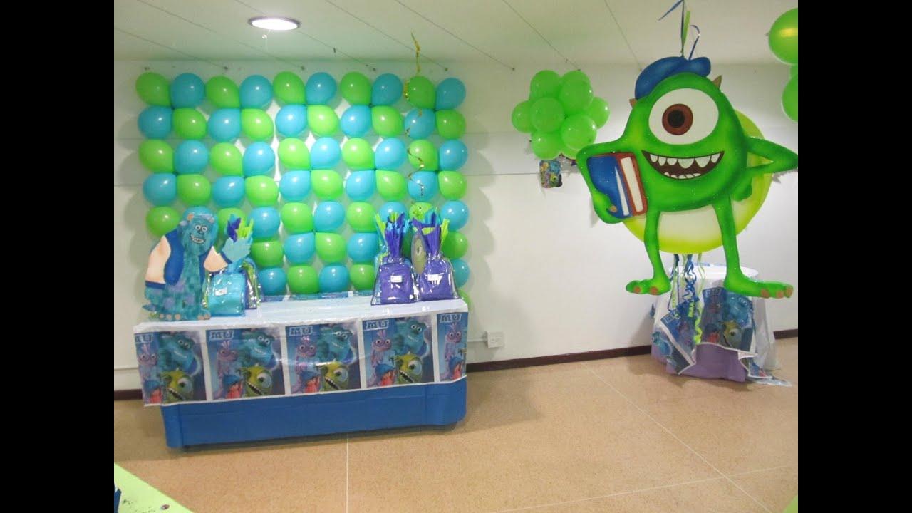decoracion de fiesta infantil con globos