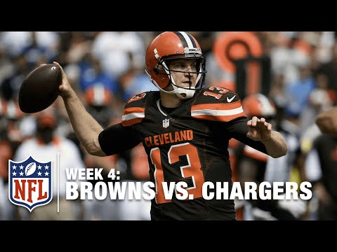 QB Josh McCown Finds Gary Barnidge for 27 Yards | Browns vs. Chargers | NFL