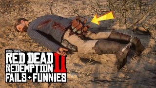 Red Dead Redemption 2 - Fails & Funnies #38