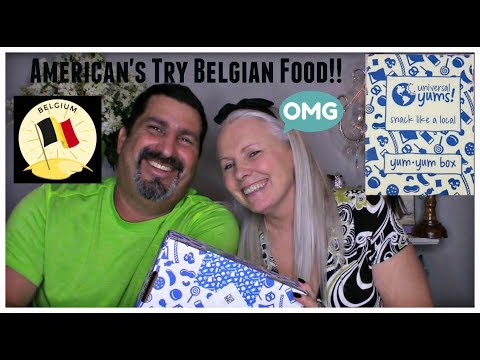 American's Try Belgium Food