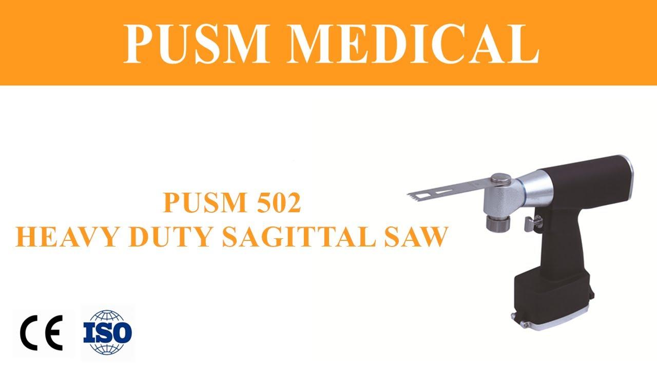 Medical Electric Orthopedic Surgical Sagittal Bone Saw (PUSM502) #Orthopedicsurgery