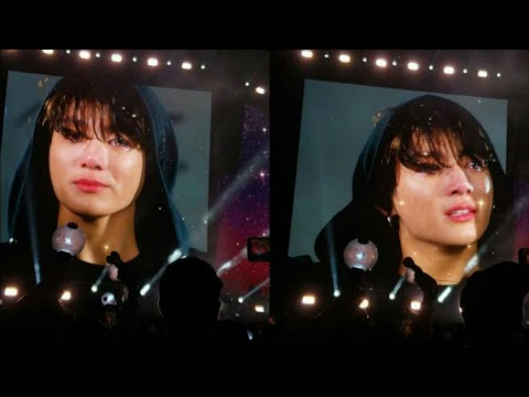 190519 BTS Ending Ment|Talk, Jungkook Crying @BTS 방탄소년단 Speak Yourself MetLife New Jersey 2019