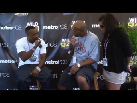 WiLD 94-1's WiLDSplash 2010 interview backstage with Yo Gotti