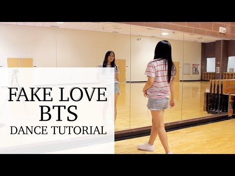 BTS (방탄소년단) 'FAKE LOVE' Lisa Rhee Dance Tutorial