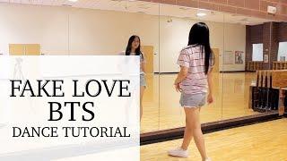 Gambar cover BTS (방탄소년단) 'FAKE LOVE' Lisa Rhee Dance Tutorial