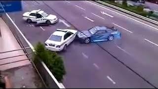!! New Video Nissan Drift VS Police MUST WATCH !!