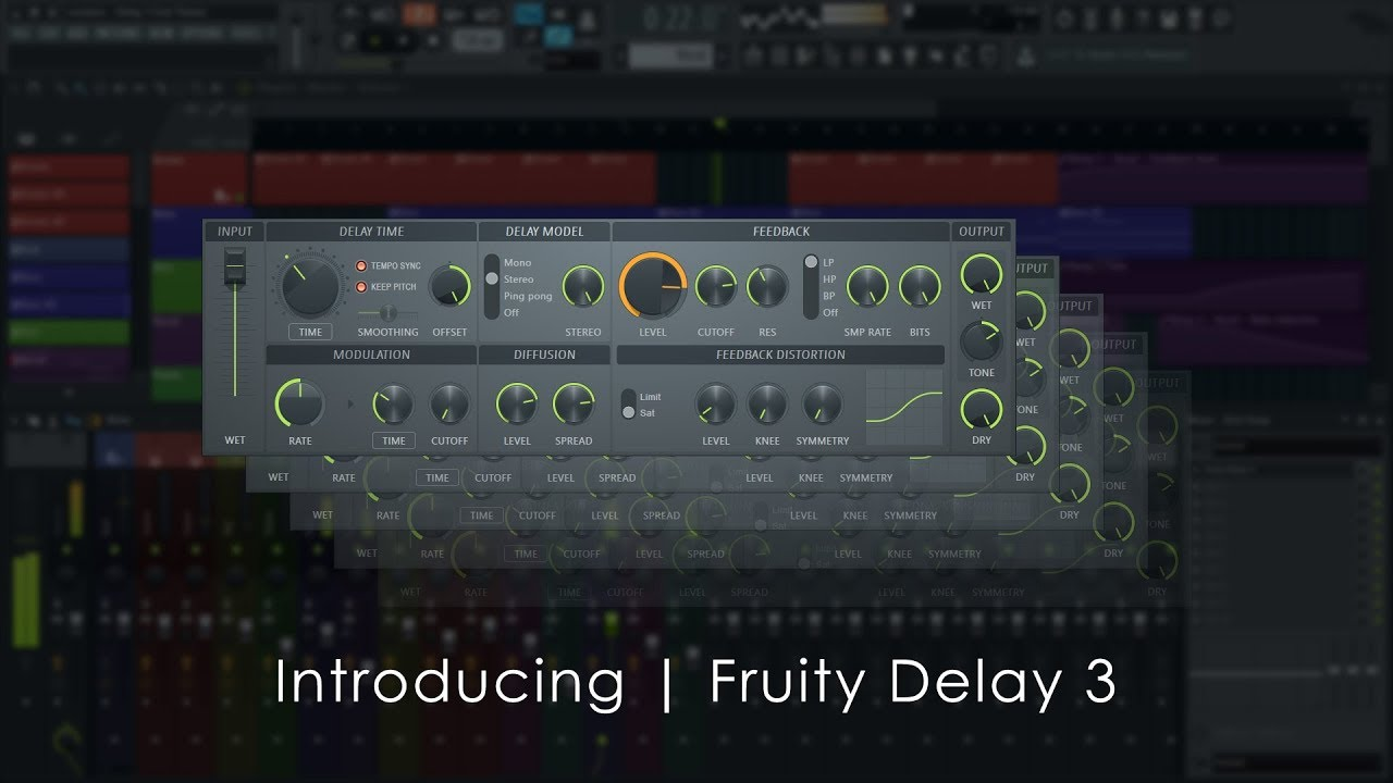 Fruity Delay 3 - Effect Plugin