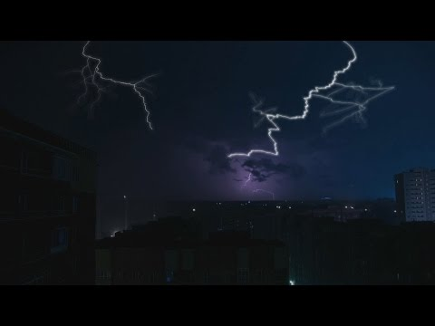 🎧 Thunderstorm Ambience And Pouring Rain Sounds - Thunder & lightning Nature Sounds For Relaxation