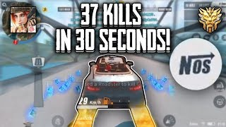 I ran over 37 people and got banned...| Rules Of Survival