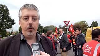 Grève des routiers: 40 points de blocage! Le point avec Jérôme Vérité